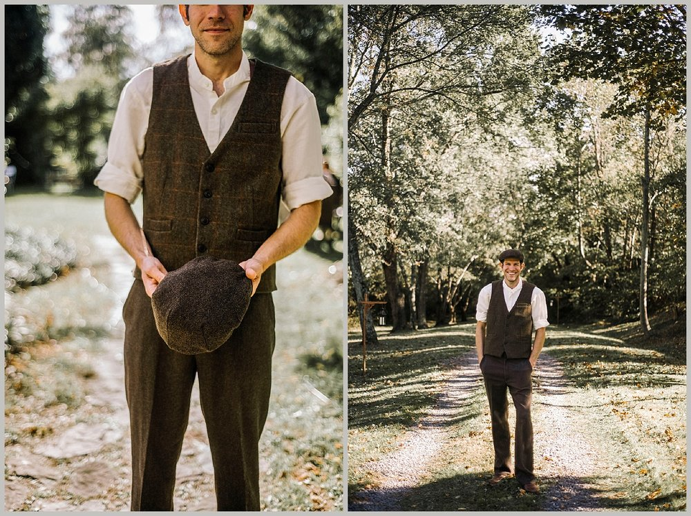 Hannah and Shannon - Autumn Back yard wedding - Loudoun County Little Washington Wedding - Intimate Wedding - White Sails Creative Photography_20.jpg