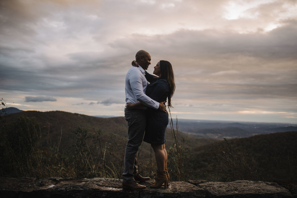 Shenandoah National Park Engagement Session - Shenandoah National Park Elopement Photographer - Virginia Adventure Photographer - Blue Ridge Parkway Elopement Photographer_9.jpg