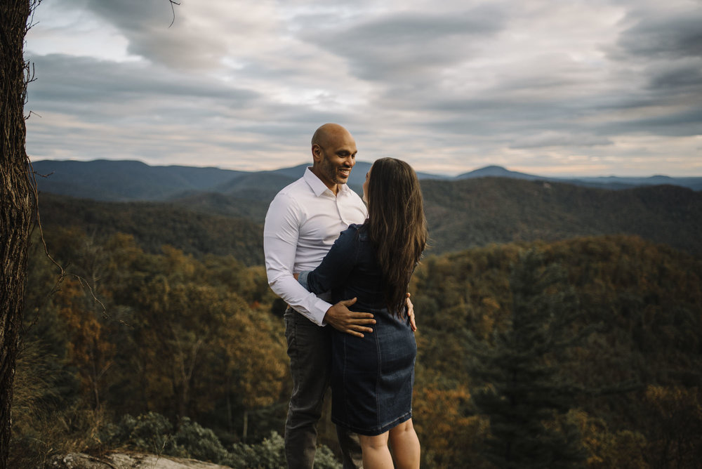Shenandoah National Park Engagement Session - Shenandoah National Park Elopement Photographer - Virginia Adventure Photographer - Blue Ridge Parkway Elopement Photographer_20.jpg