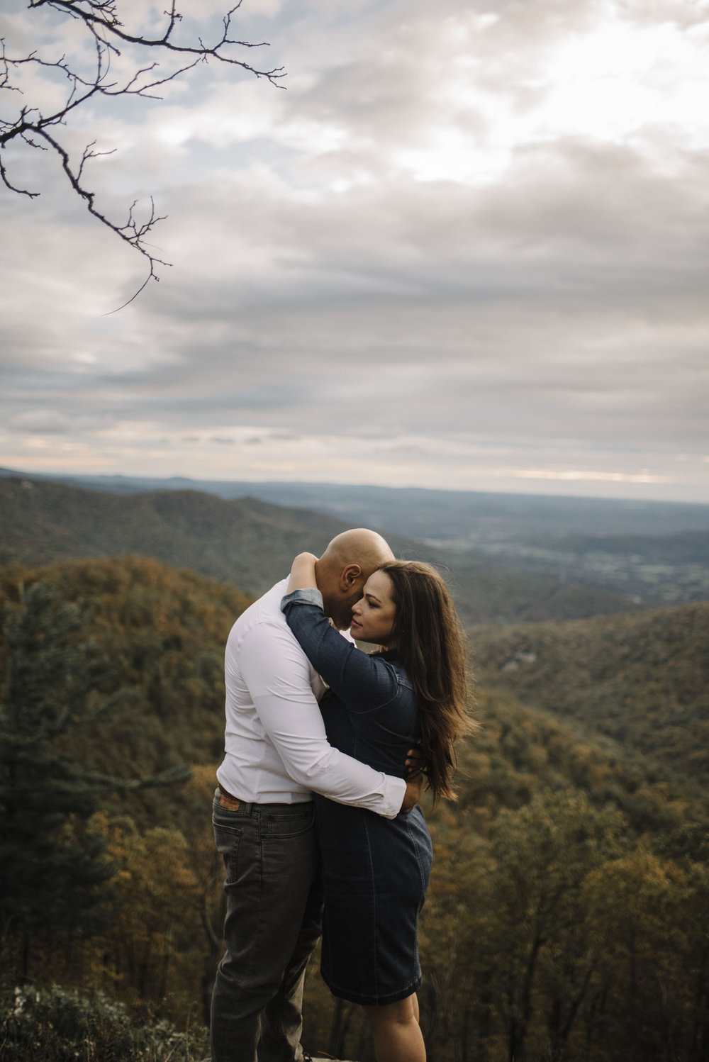 Shenandoah National Park Engagement Session - Shenandoah National Park Elopement Photographer - Virginia Adventure Photographer - Blue Ridge Parkway Elopement Photographer_21.jpg
