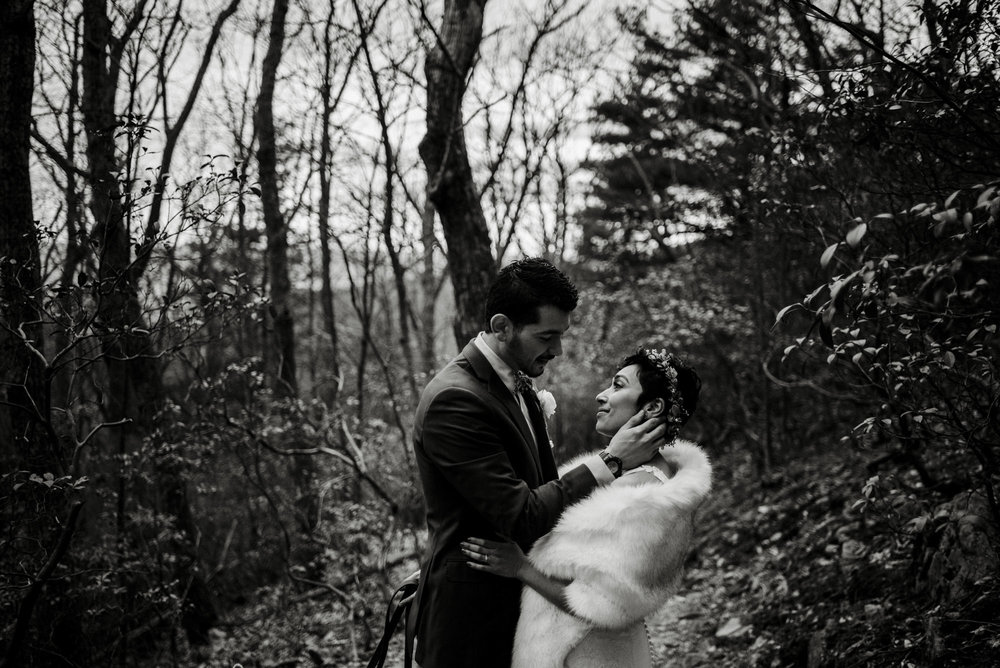 Game of Thrones Elopement - Winter Elopement - Shenandoah National Park Elopement Photographer - Virginia Adventure Photographer - Blue Ridge Parkway Elopement Photographer_14.jpg