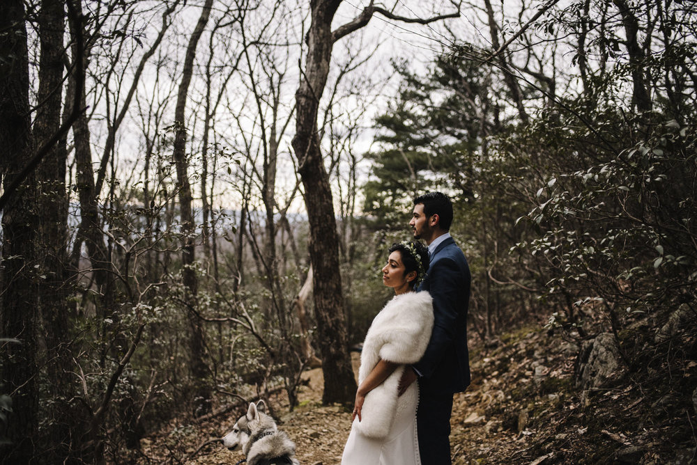 Game of Thrones Elopement - Winter Elopement - Shenandoah National Park Elopement Photographer - Virginia Adventure Photographer - Blue Ridge Parkway Elopement Photographer_15.jpg