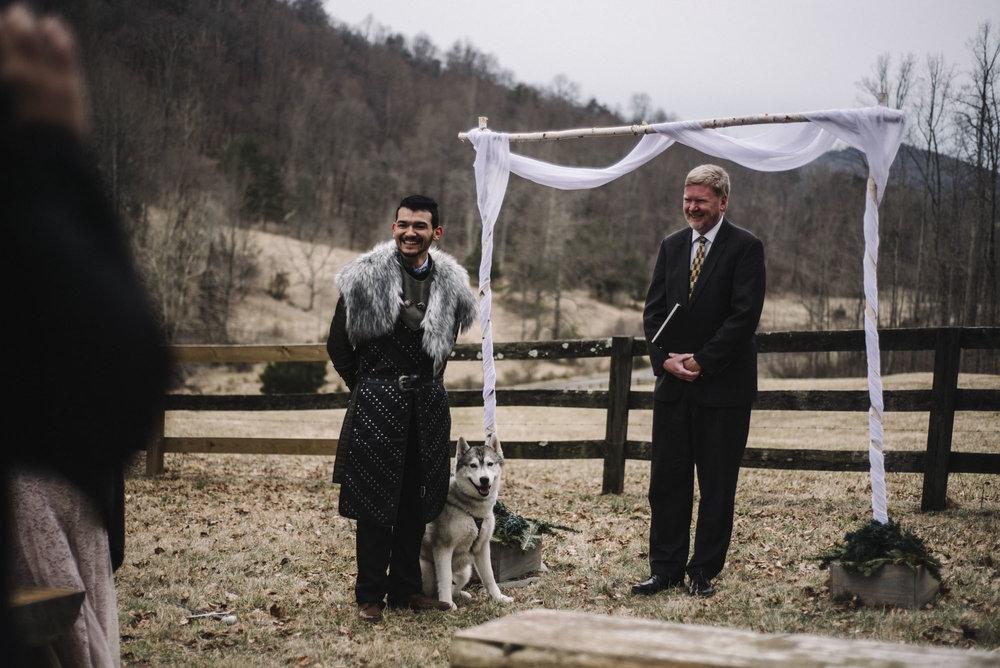 Game of Thrones Elopement - Winter Elopement - Shenandoah National Park Elopement Photographer - Virginia Adventure Photographer - Blue Ridge Parkway Elopement Photographer_34.jpg