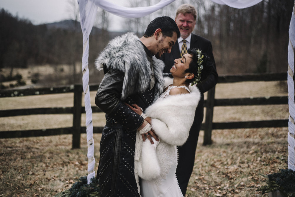 Game of Thrones Elopement - Winter Elopement - Shenandoah National Park Elopement Photographer - Virginia Adventure Photographer - Blue Ridge Parkway Elopement Photographer_38.jpg