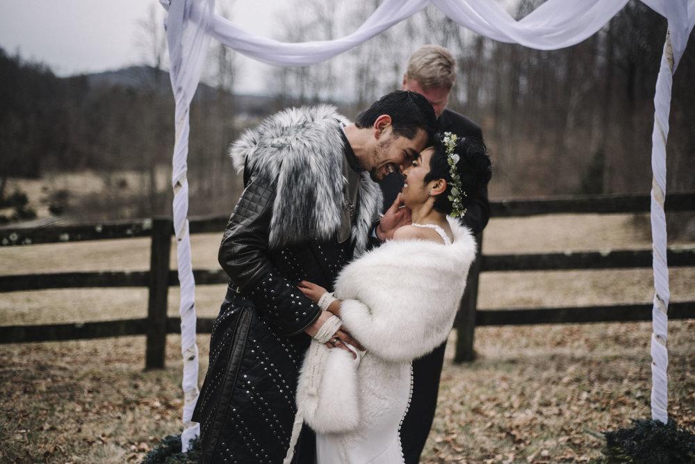 Game of Thrones Elopement - Winter Elopement - Shenandoah National Park Elopement Photographer - Virginia Adventure Photographer - Blue Ridge Parkway Elopement Photographer_39.jpg