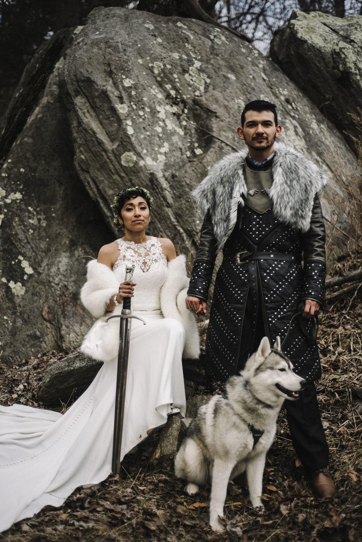 Game of Thrones Elopement - Winter Elopement - Shenandoah National Park Elopement Photographer - Virginia Adventure Photographer - Blue Ridge Parkway Elopement Photographer_47.jpg