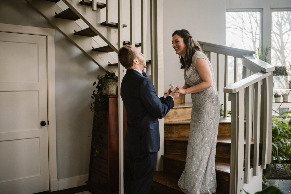 Intimate Dinner Wedding - Small Wedding with Candlelit Dinner - Sperryville Virginia Wedding - Backyard Wedding - Flourish Root Wedding Flowers - White Sails Creative Wedding - Cozy Wedding - Casual Wedding - Intimate Wedding_14.jpg