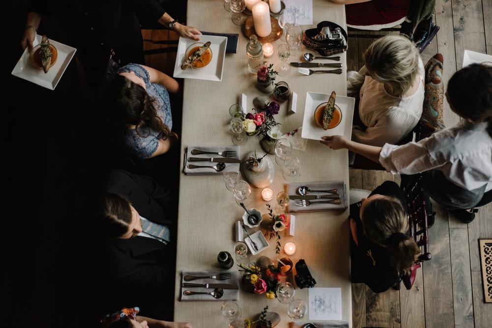 Intimate Dinner Wedding - Small Wedding with Candlelit Dinner - Sperryville Virginia Wedding - Backyard Wedding - Flourish Root Wedding Flowers - White Sails Creative Wedding - Cozy Wedding - Casual Wedding - Intimate Wedding_41.jpg