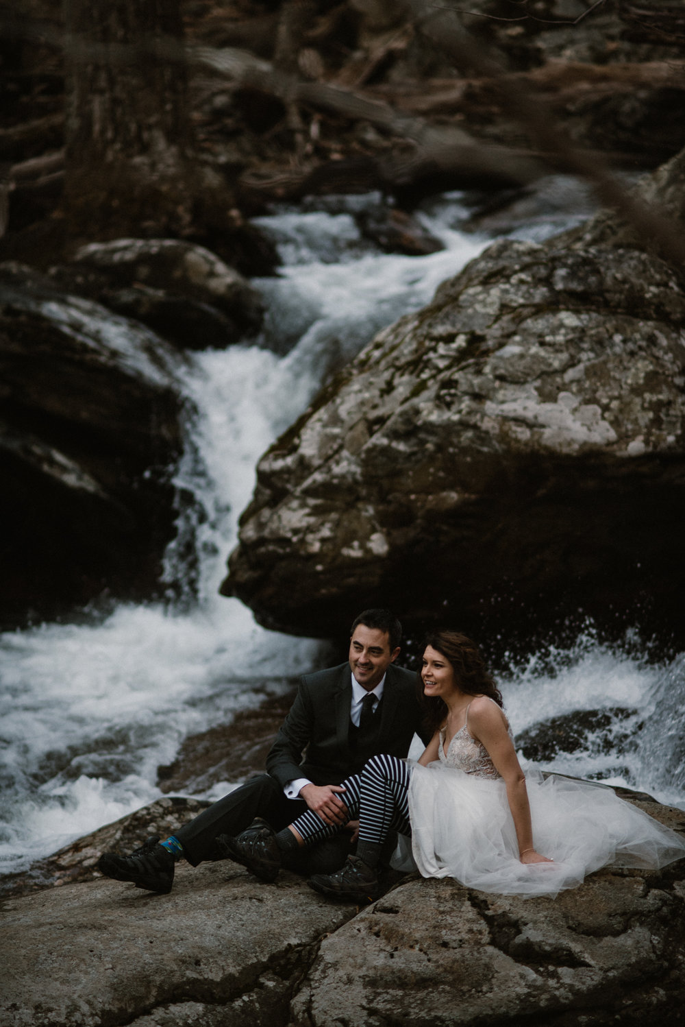 Stephanie and Steve - Shenandoah National Park Elopement - Sunrise Hiking Elopement - Adventurous Elopement - Virginia Elopement Photographer - Shenandoah national Park Wedding Photographer - White Sails Creative_6.jpg