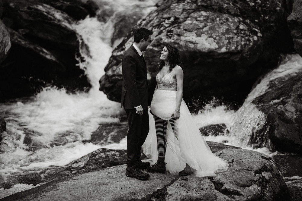 Stephanie and Steve - Shenandoah National Park Elopement - Sunrise Hiking Elopement - Adventurous Elopement - Virginia Elopement Photographer - Shenandoah national Park Wedding Photographer - White Sails Creative_7.jpg