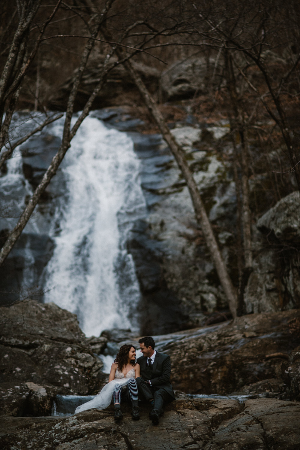 Stephanie and Steve - Shenandoah National Park Elopement - Sunrise Hiking Elopement - Adventurous Elopement - Virginia Elopement Photographer - Shenandoah national Park Wedding Photographer - White Sails Creative_14.jpg