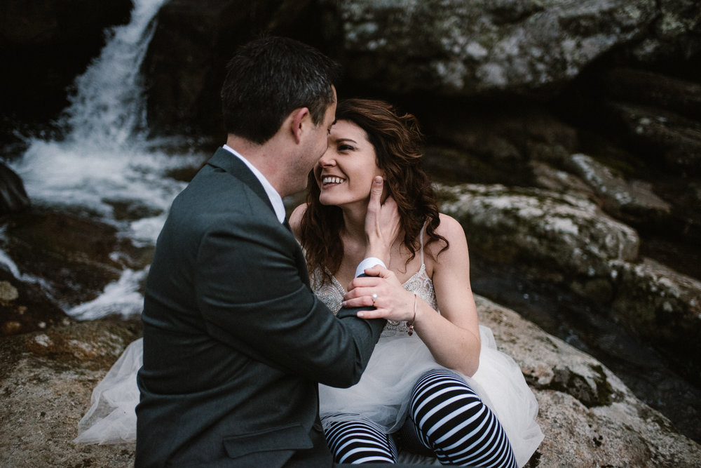 Stephanie and Steve - Shenandoah National Park Elopement - Sunrise Hiking Elopement - Adventurous Elopement - Virginia Elopement Photographer - Shenandoah national Park Wedding Photographer - White Sails Creative_24.jpg