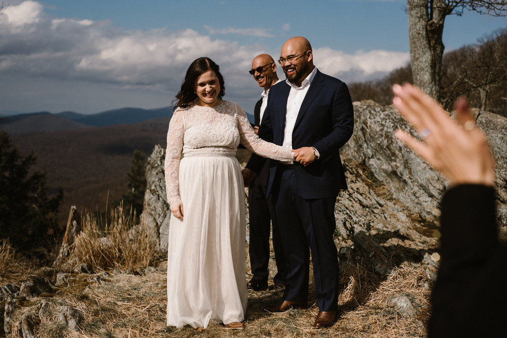 Emma and Jeddah - Intimate Luray Wedding - Shenandoah National Park Wedding - Adventure Elopement in Virginia - Shenandoah National Park Elopement_38.jpg