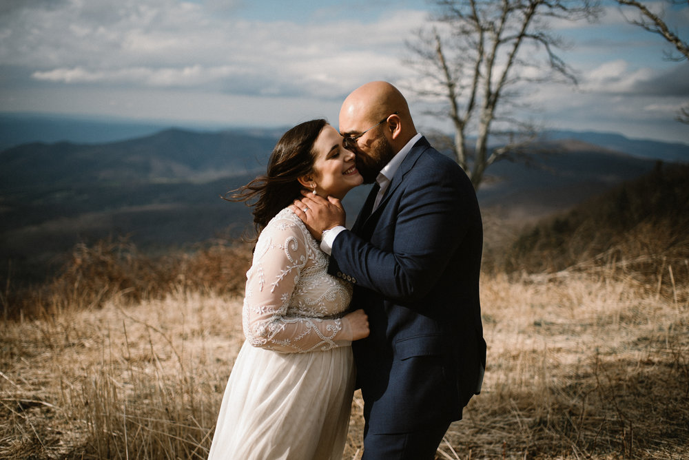 Emma and Jeddah - Intimate Luray Wedding - Shenandoah National Park Wedding - Adventure Elopement in Virginia - Shenandoah National Park Elopement_46.jpg