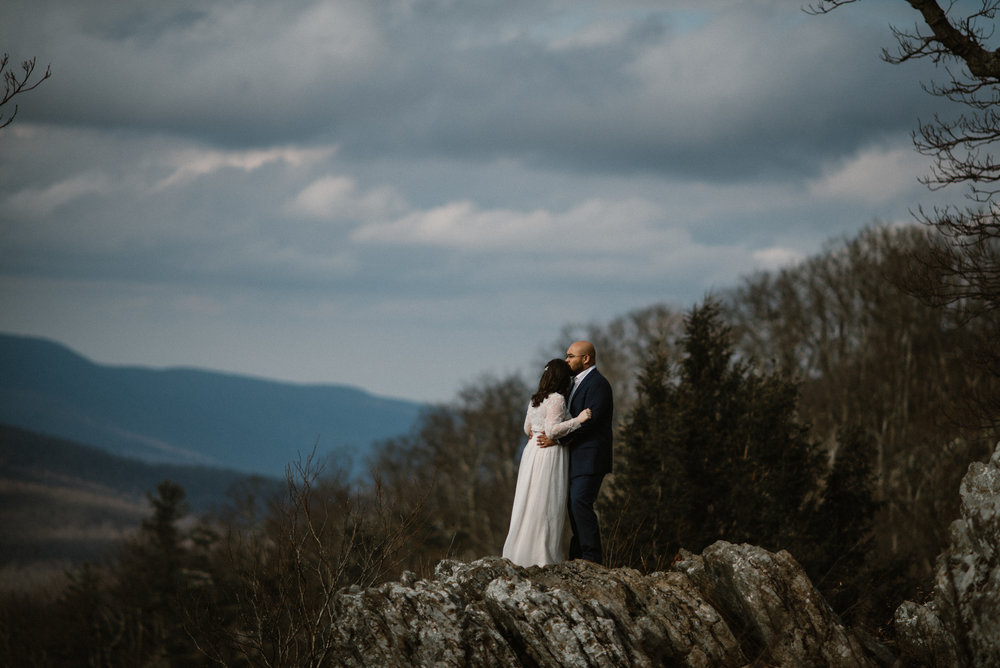 Emma and Jeddah - Intimate Luray Wedding - Shenandoah National Park Wedding - Adventure Elopement in Virginia - Shenandoah National Park Elopement_50.jpg