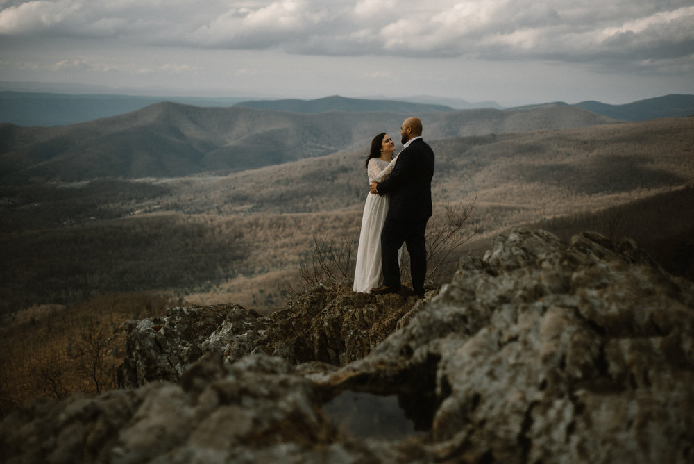 Emma and Jeddah - Intimate Luray Wedding - Shenandoah National Park Wedding - Adventure Elopement in Virginia - Shenandoah National Park Elopement_51.jpg