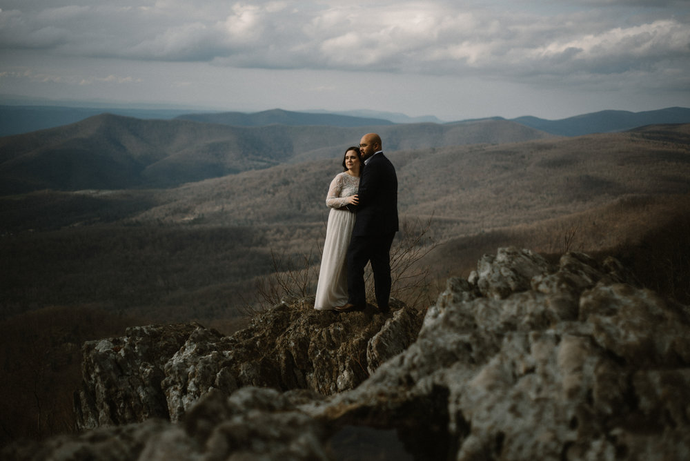 Emma and Jeddah - Intimate Luray Wedding - Shenandoah National Park Wedding - Adventure Elopement in Virginia - Shenandoah National Park Elopement_54.jpg