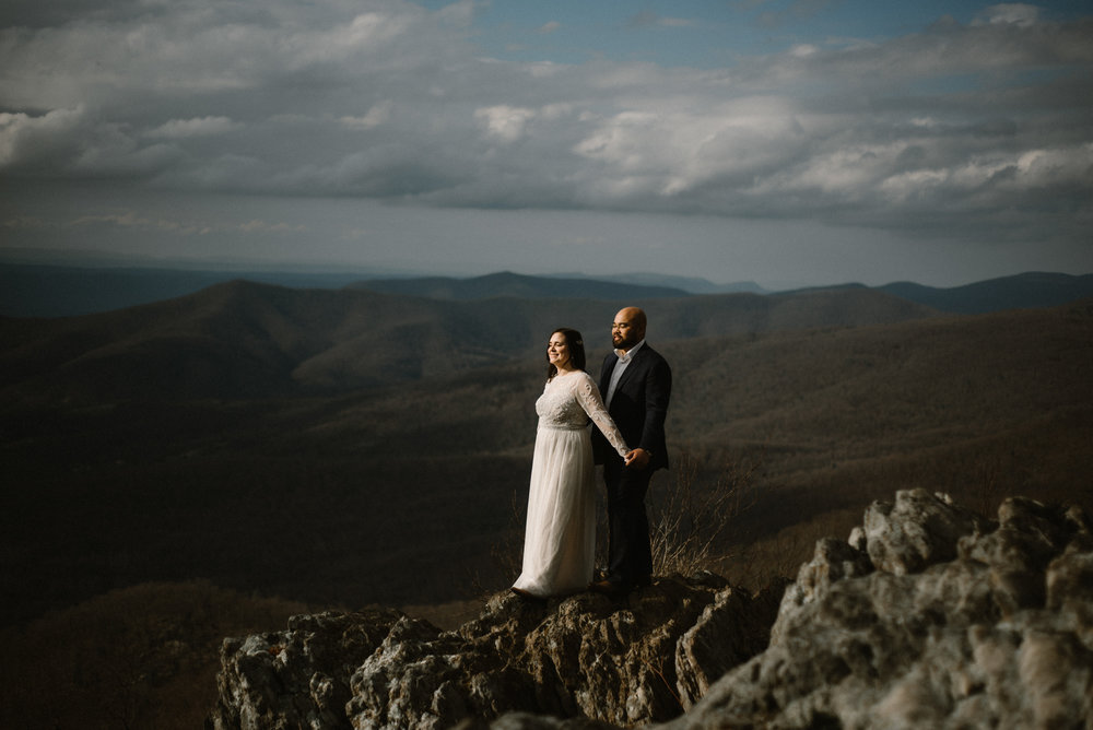 Emma and Jeddah - Intimate Luray Wedding - Shenandoah National Park Wedding - Adventure Elopement in Virginia - Shenandoah National Park Elopement_55.jpg