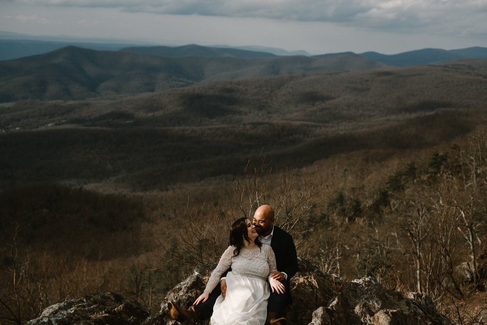 Emma and Jeddah - Intimate Luray Wedding - Shenandoah National Park Wedding - Adventure Elopement in Virginia - Shenandoah National Park Elopement_56.jpg