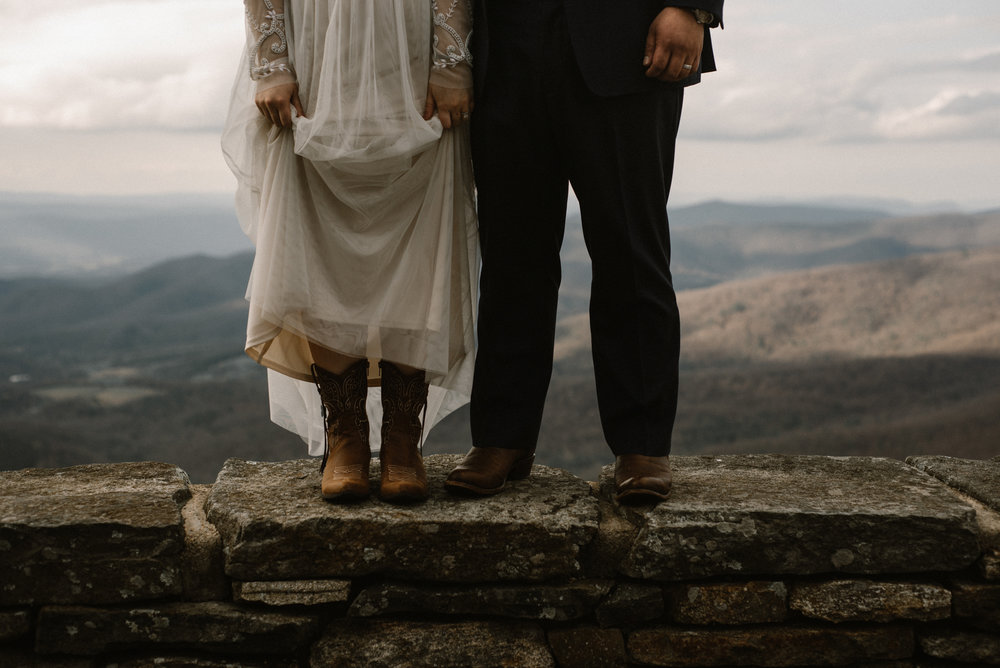 Emma and Jeddah - Intimate Luray Wedding - Shenandoah National Park Wedding - Adventure Elopement in Virginia - Shenandoah National Park Elopement_63.jpg