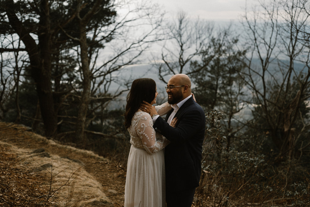 Emma and Jeddah - Intimate Luray Wedding - Shenandoah National Park Wedding - Adventure Elopement in Virginia - Shenandoah National Park Elopement_68.jpg