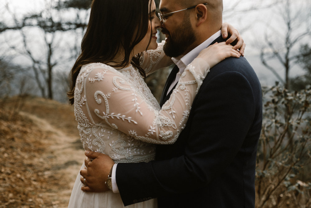 Emma and Jeddah - Intimate Luray Wedding - Shenandoah National Park Wedding - Adventure Elopement in Virginia - Shenandoah National Park Elopement_72.jpg