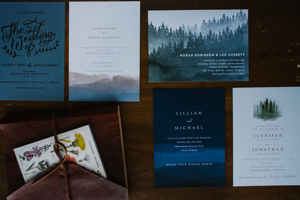 Basic Invite - Adventure Wedding Invitations - Mountain Wedding Invitations - White Sails Creative Wedding Photography - Elopement Photography - Virginia Wedding Photographer - Blue Ridge Mountain Wedding Invitations.jpg