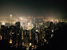 On top of Victoria Peak