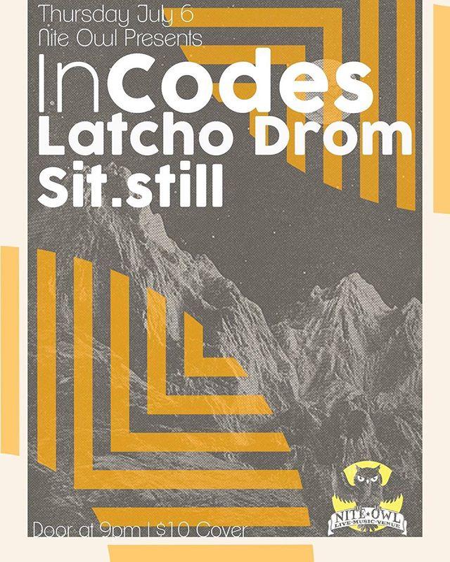In Codes 2morrow!? . . . . . #yyc #yycmusic #calgary #calgarymusic #yycarts #iamdowntown #music #livemusic