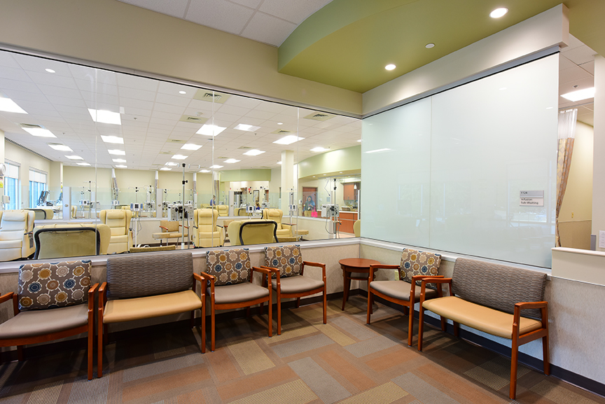 Infusion Center & Waiting Area