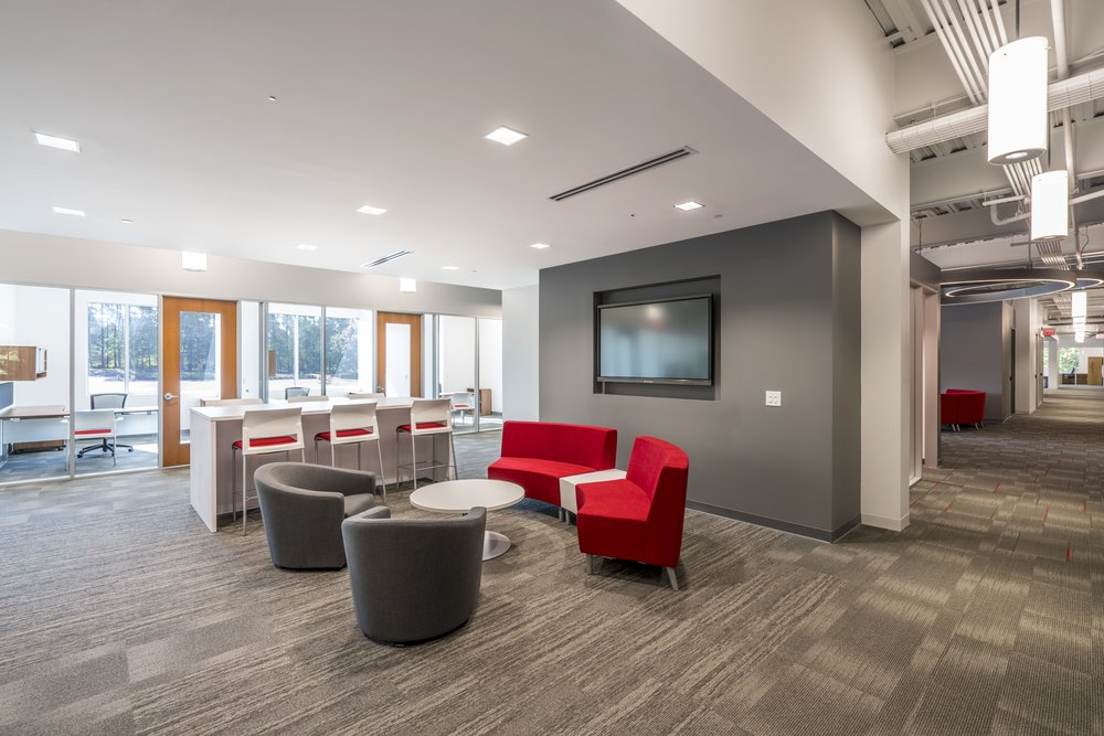 private offices | collaboration spaces