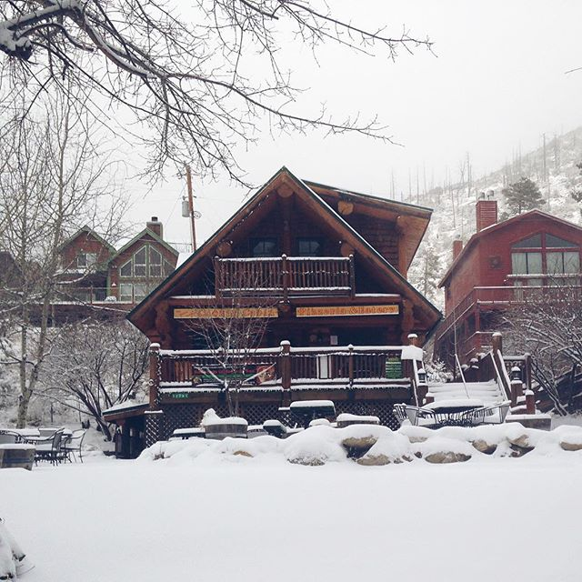 We've got some #snow clearing to do! #instagood #az #mtlemmon