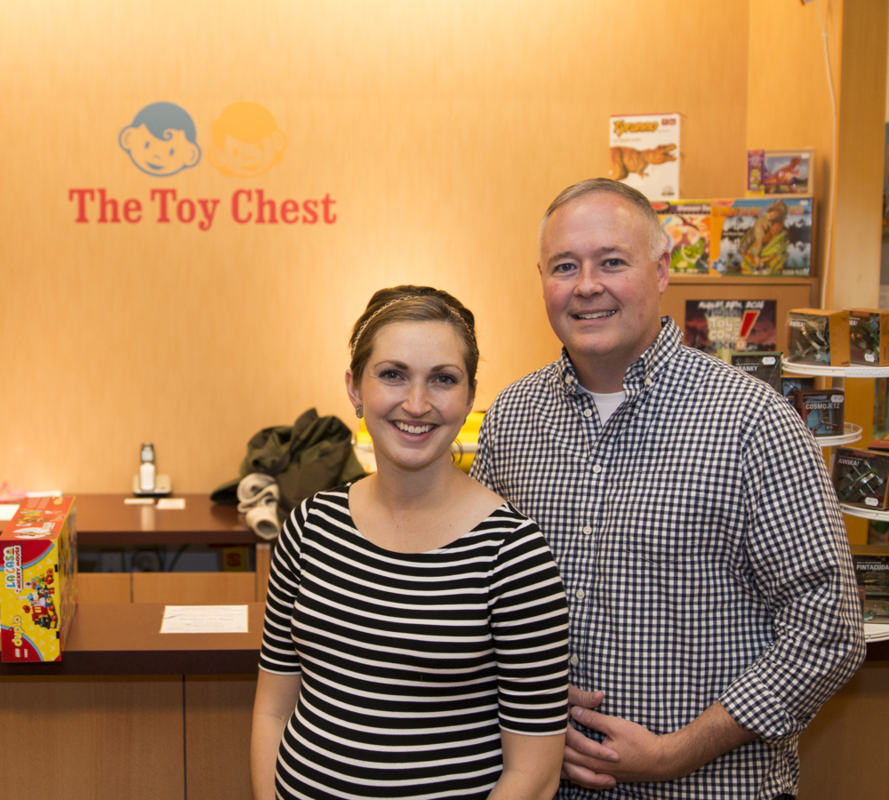 Hilary & Danny Key - Owners of The Toy Chest