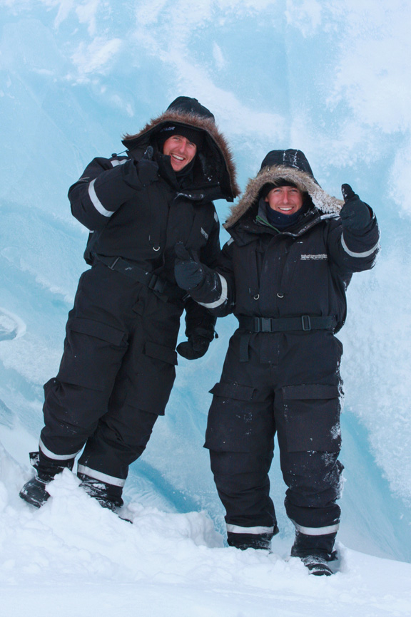 Searching for polar bears and looking like ewoks, Svalbard, Norway
