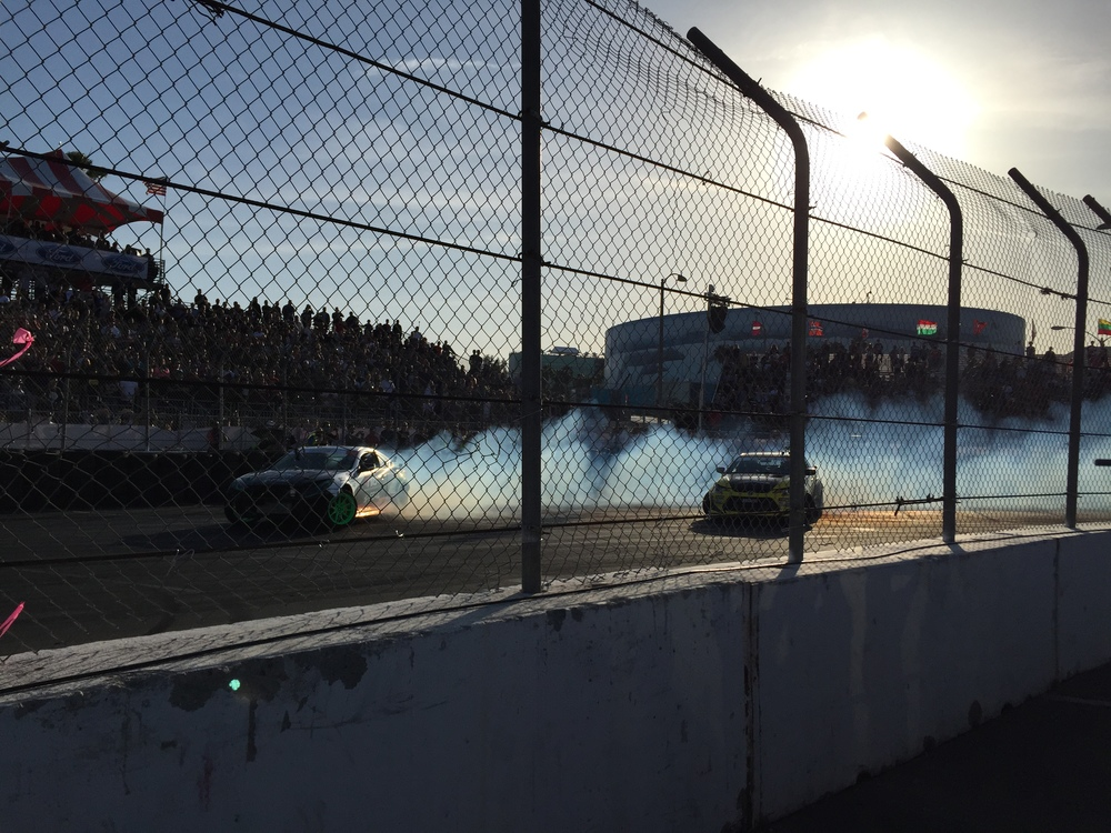 Formula Drift, Long Beach, California