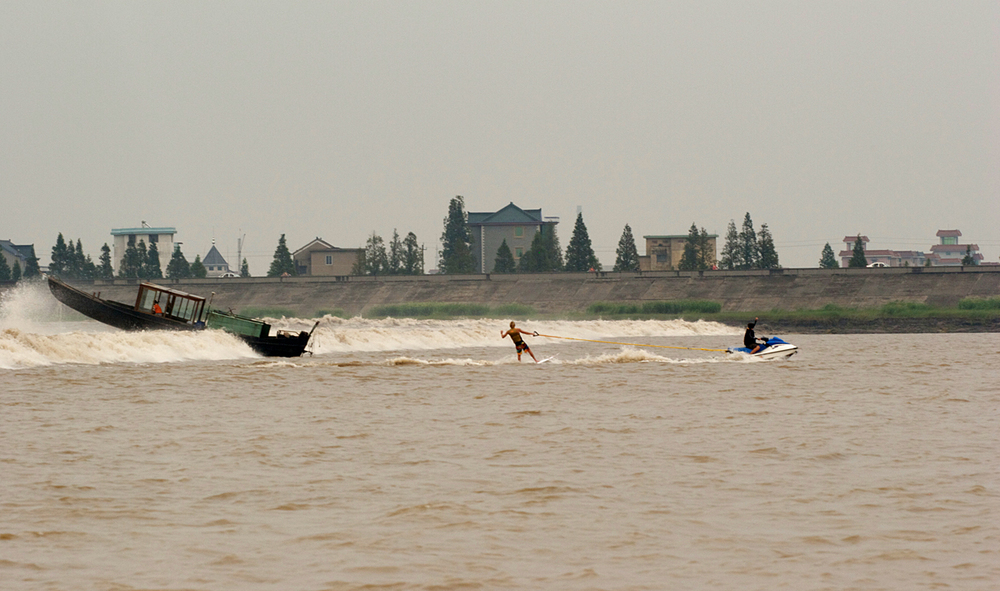 Pioneering the Silver Dragon Tidal Bore with Mark Healey, Hangzhou, China