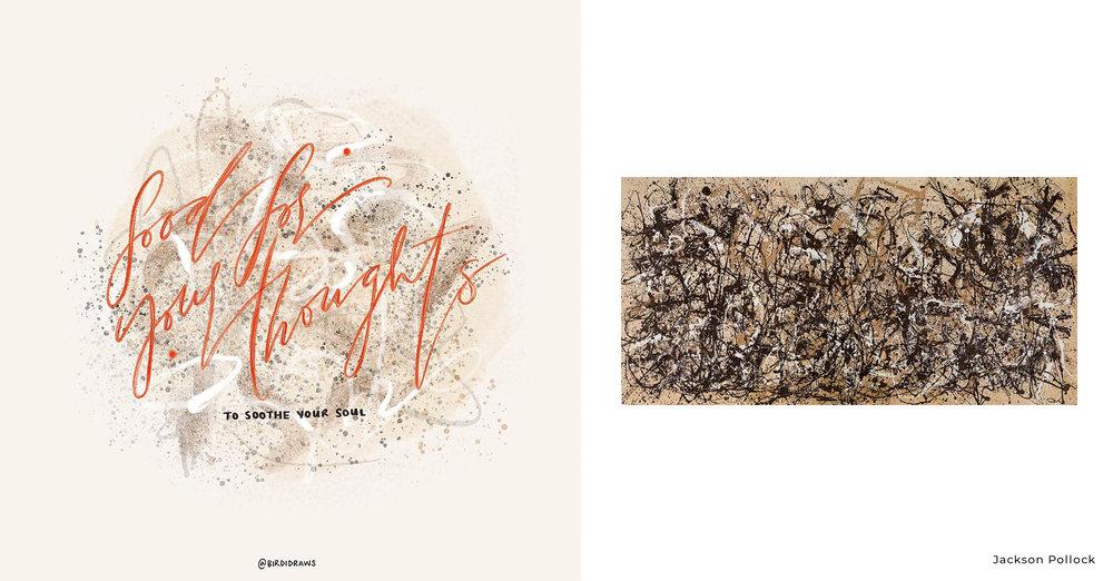 J. Cole vs Jackson Pollock