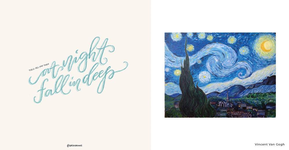 Sabrina Claudio x Vincent Van Gogh