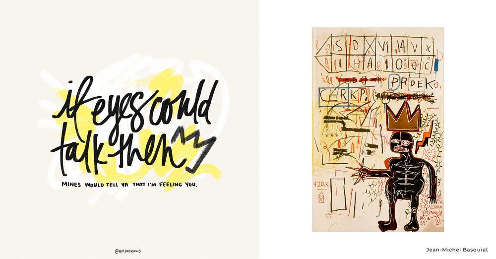 J. Cole vs Jean-Michel Basquiat