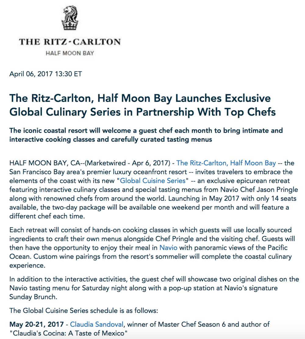 Ritz Carlton HMB