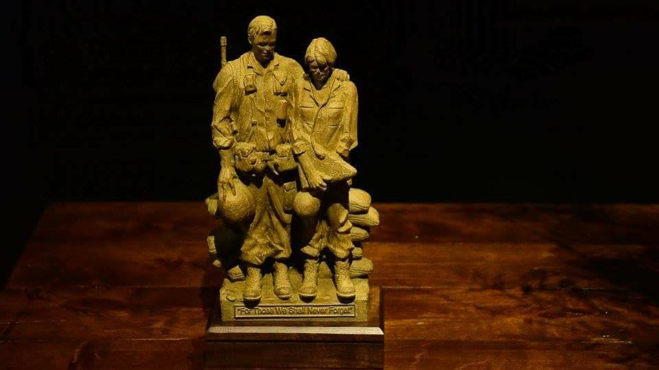 Vietnam Veteran's Memorial Statue - (provided by the Major Francis Grice Chapter of the Daughters of the American Revolution and Wichita Falls native and official Texas State Sculptor Garland Weeks)