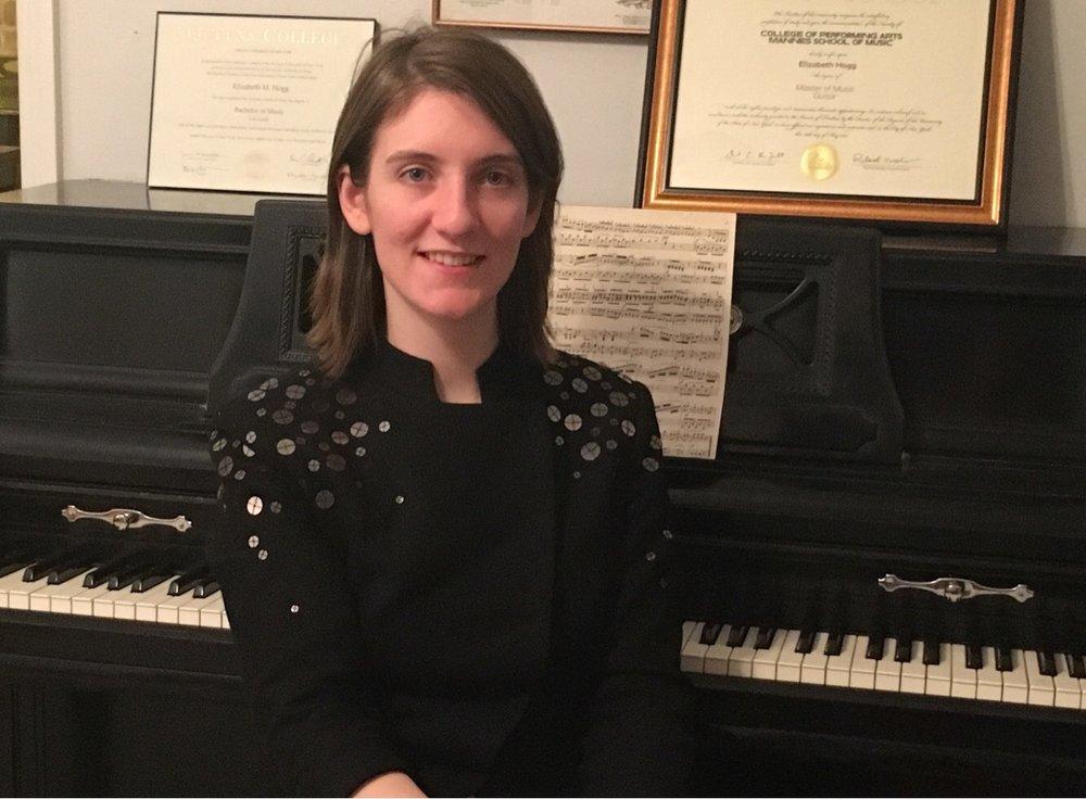 Piano & Guitar Teacher Liz Hogg