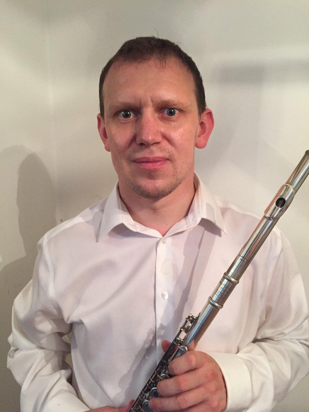 Flute Teacher Denys Dzhuryn