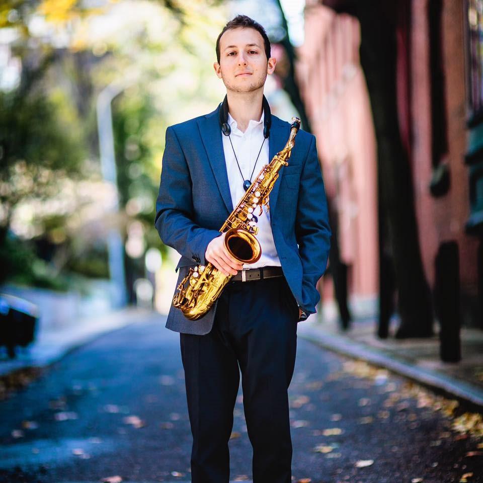 Saxophone Teacher Andrew Pereira