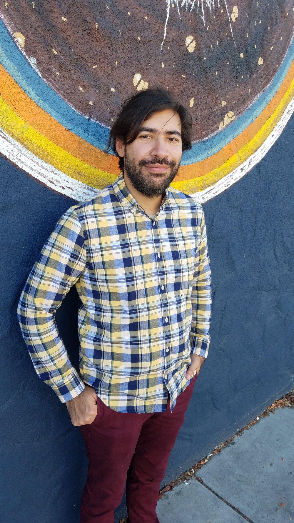 San Diego Guitar and Bass Teacher Mateo Bernal