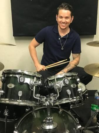 Drum Teacher Lucas Widdes