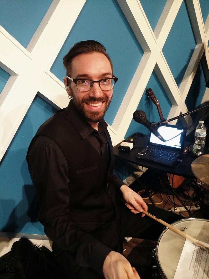 Drum Teacher Erik Scattareggia