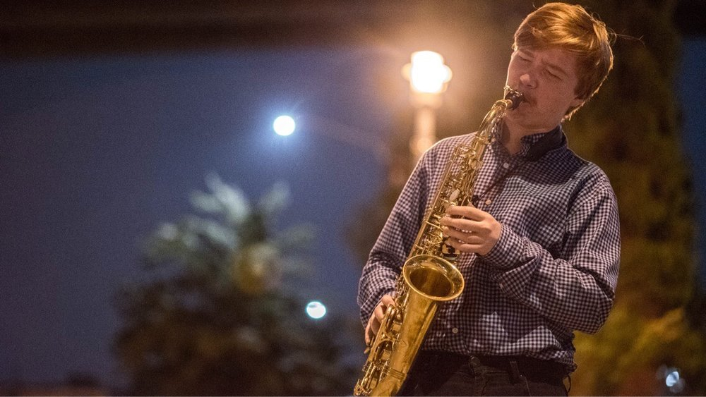 Saxophone Teacher Lee Burlingame