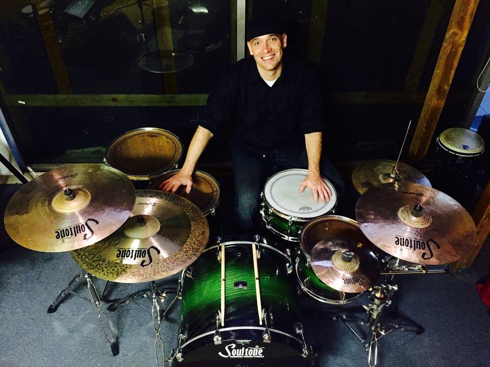 Drum Teacher Joe Turner