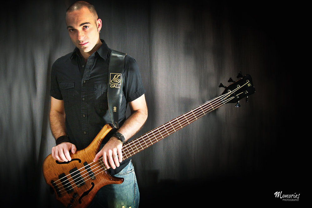 Bass & Guitar Teacher Mario Pagliarulo